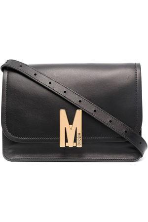 Moschino Logo-plaque shoulder bag