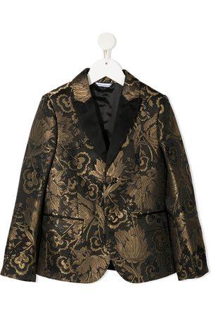 Dolce & Gabbana Boys Blazers - Floral jacquard blazer
