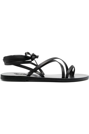 Ancient Greek Sandals Women Sandals - Wrap ankle sandals