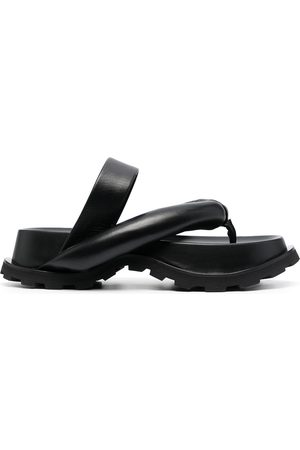 Jil Sander Women Heeled Sandals - Padded platform sandals