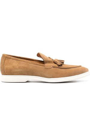 ELEVENTY Tassel-trim loafers