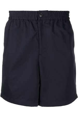 Ami Men Bermudas - Elasticated-waist Bermuda shorts