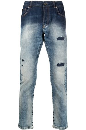 John Richmond Men Slim - Mick distressed slim-fit jeans
