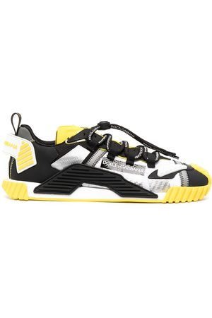 Dolce & Gabbana Men Sneakers - NS1 panelled sneakers