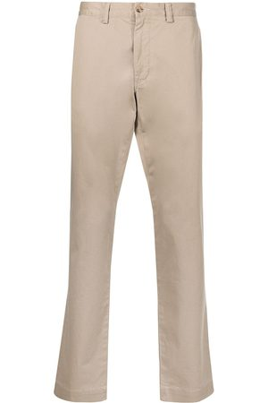 Polo Ralph Lauren Men Pants - Logo-patch straight-leg trousers