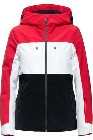 Aztech Ajax color-block puffer jacket