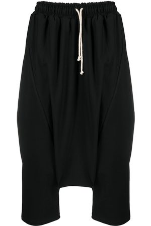 Alchemy Cropped stretch-cotton drop-crotch trousers