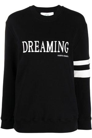 Alberta Ferretti Graphic-print cotton sweatshirt