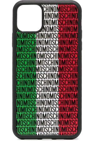 Moschino Italy logo-print iPhone 11 Pro Max case