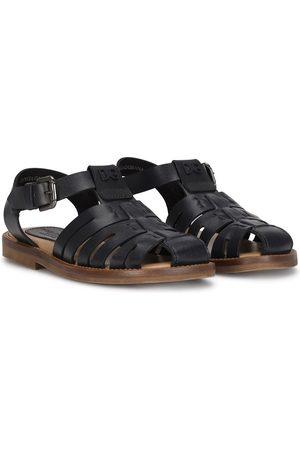 Dolce & Gabbana Boys Sandals - T-bar buckle-fastening sandals