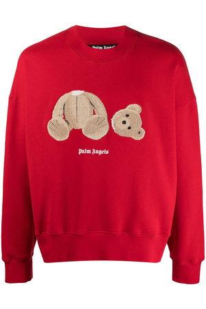 Palm Angels Bear cotton sweatshirt
