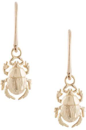 Karen Walker Women Earrings - Beetle Sleepers hoop earrings