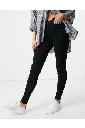Vila Skinny jeans in black