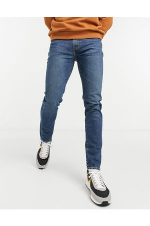 Levi's 512 slim taper fit jeans in whoop mid wash-Blue