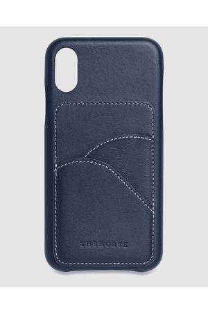 The Horse Phone Cases - IPhone X XS The Scalloped iPhone Cover - Tech Accessories (Navy iPhone X / XS) iPhone X - XS - The Scalloped iPhone Cover