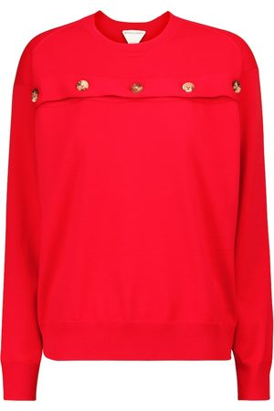 Bottega Veneta Buttoned merino wool sweater