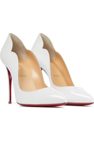 Christian Louboutin Hot Chick 100 patent leather pumps
