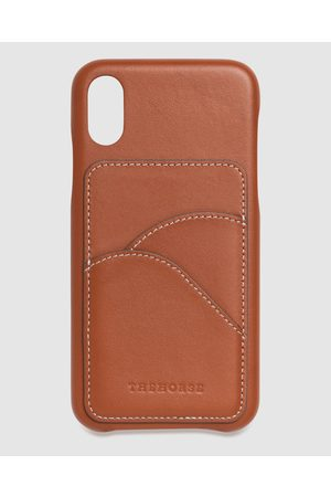 The Horse Phone Cases - IPhone X XS The Scalloped iPhone Cover - Tech Accessories (Tan iPhone X / XS) iPhone X - XS - The Scalloped iPhone Cover