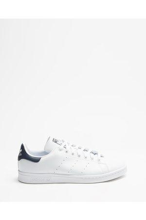 adidas Sneakers - Stan Smith Vegan Unisex - Lifestyle Sneakers (Footwear , Footwear & Collegiate Navy) Stan Smith Vegan - Unisex