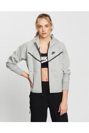 Nike Sportswear Tech Fleece Windrunner Full Zip Hoodie - Hoodies (Dark Heather & ) Sportswear Tech Fleece Windrunner Full-Zip Hoodie