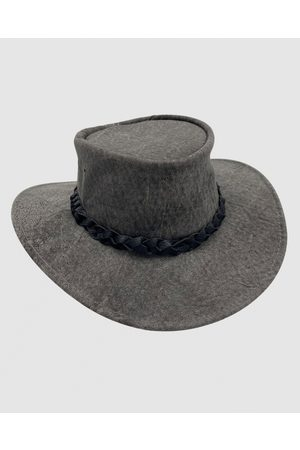 Jacaru 1172 Kangaroo Hat Stonewash - Hats 1172 Kangaroo Hat Stonewash