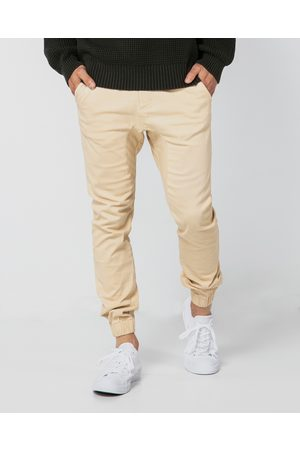 ONEBYONE Men Cargo Pants - Edward Chino Pants - Cargo Pants (Sand) Edward Chino Pants