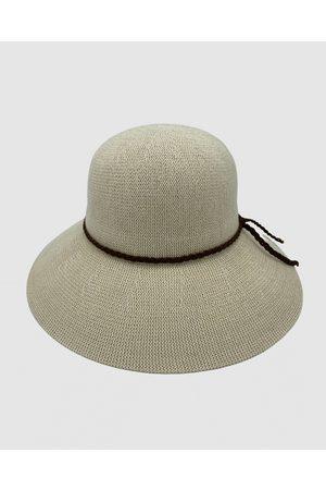 Jacaru 1862 Sun Hat Round - Hats (Nude) 1862 Sun Hat Round