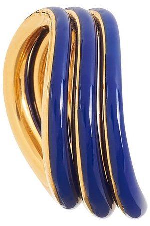 CHARLOTTE CHESNAIS Wave enamelled rings