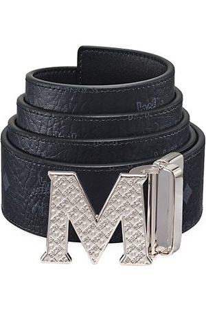 MCM Claus Reversible Logo Engraved Belt