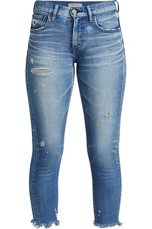 Moussy Diana Cropped Skinny Jeans