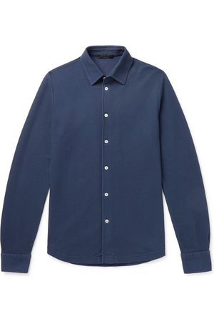 Loro Piana Men Casual - Cotton-Piqué Shirt