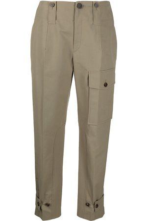 Chloé Women Cargo Pants - Straight-leg cargo trousers