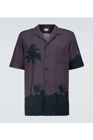 Dries Van Noten Short-sleeved bowling shirt