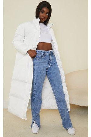 PRETTYLITTLETHING Women Raincoats - Tall Maxi Puffer Coat