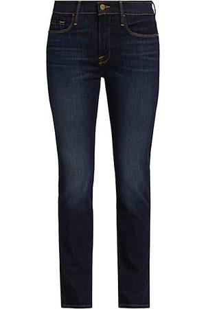 Frame Le Garcon Straight-Leg Jeans
