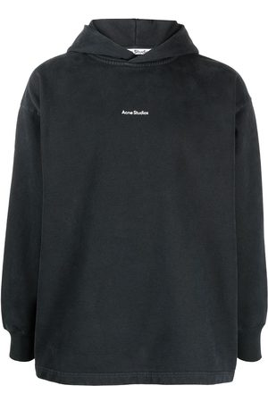Acne Studios Women Hoodies - Logo print hoodie