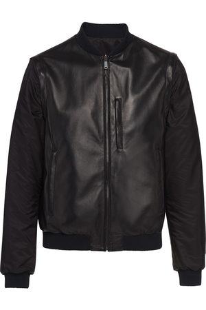 Prada Nappa leather bomber jacket