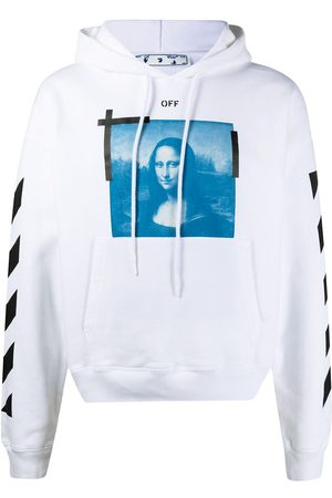 OFF-WHITE Mona Lisa drawstring hoodie