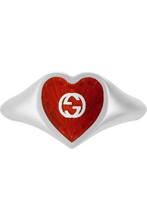 Gucci Women Rings - Interlocking G heart ring
