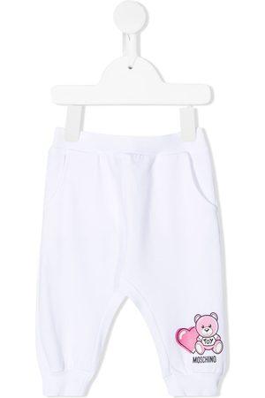 Moschino Teddy Bear print track pants
