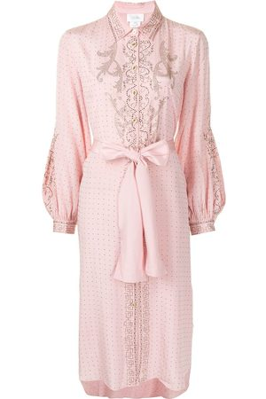 Camilla Women Dresses - Crystal-embellished tied-waist dress