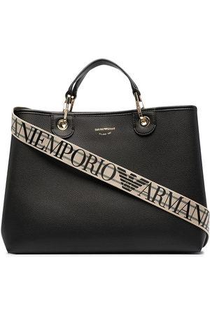 Emporio Armani Logo-print tote bag