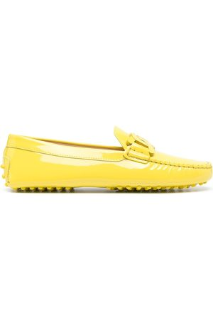 Tod's High-shine finish loafers