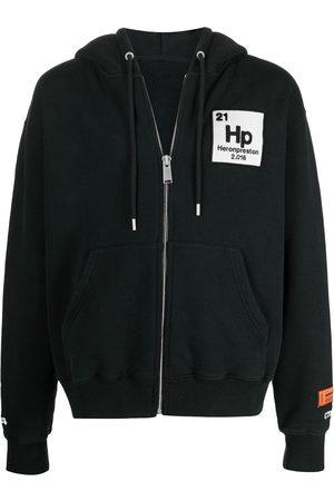 Heron Preston Men Hoodies - Herons Halo zip hoodie