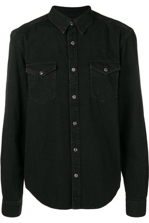 Givenchy Men Denim - Chest pocket denim shirt