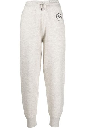 Sandro Women Joggers - Embroidered-logo joggers