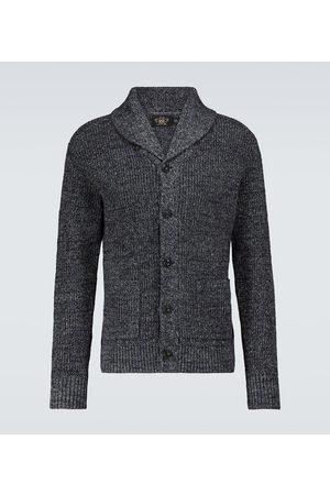 RRL Cotton and linen shawl cardigan