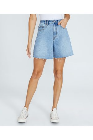 Insight Women Short Sleeve - Vinnie Vintage Denim Shorts State