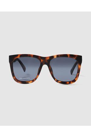 Le Specs Sunglasses - High Hopes Polarised Sunglasses Matte Tort