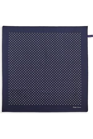 Ralph Lauren Polka Dot Silk Pocket Square
